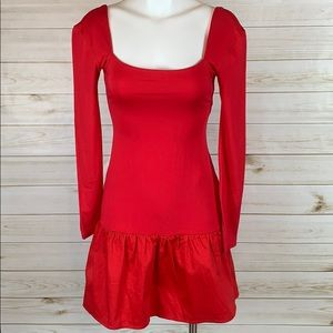 Red, Fun Party Dress